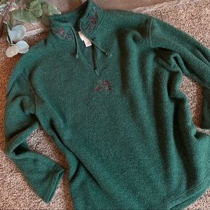 Vintage Victoria's Secret Country Sherpa Pullover